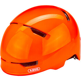 ABUS Scraper 3.0 Casco Bambino, shiny orange